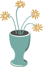 illustration of flowers